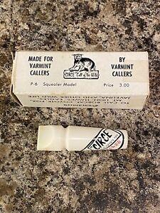 Vintage Circe P-6 Squealer Varmint Caller In original box Bobcat Coyote Fox nice