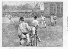 Vintage London Cricket Lords The Oval Transport Poster A3//A2//A1 Print