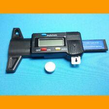 Digital Tiefenmesser Messchieber LCD Reifen Profilmesser