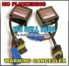 2x Hid Xenon Canbus Luz De Advertencia Error Cancelador conjunto Capacitor Decodificador