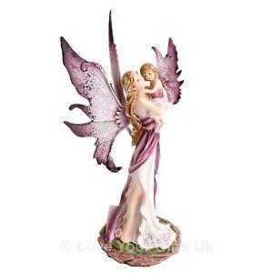 Precious Moments Fairy 26.5 cm High Mother Daughter Magical Fantasy Nemesis Now
