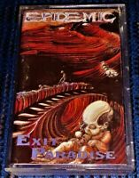 Epidemic – Exit Paradise. VG Cassette Tape Plays Well Rare