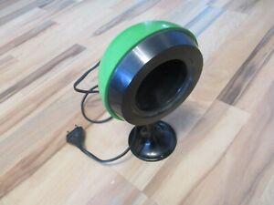 Alte Vintage Lampe Kugel Tischlampe ~ grün~ 70er Jahre ~ Space Age