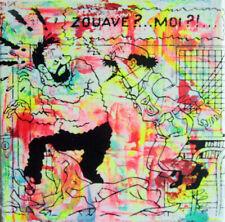 zouave PyB signed tableau pop street art graffiti french paint tournesol haddock