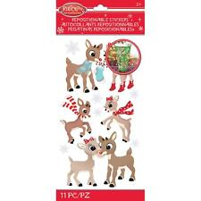 Scrapbooking Crafts Stickers Jolee's Christmas Rudolph Clarice Repositionable