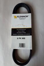 New Flennor Poly Fan V Ribbed Belt 6pk985 Top German Quality 6pk 985
