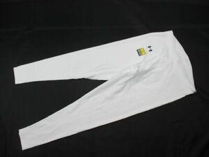Under Armour Compression Pants Men's White ColdGear New Multiple Sizes