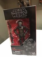 """Hasbro Star Wars Black Series 6"""" (6-inch) 4-LOM #67 (new in box!!!)"""