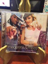MADONNA & MISSY 2 Track GAP PROMO (CD,2003) Mfg. Sealed