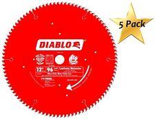 5 Pack Freud D1296L Diablo Melamine, Laminate Flooring, and Wood Saw Blade