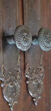 Sherle Wagner PE Guerin 2 Antique Oil Rubbed Bronze Door Hardware Knob Handle