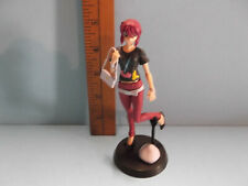 """#B754 Unknown Anime 5""""in Gundam Red Head Girl with Hip Hat and Purse"""