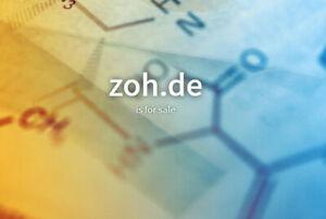dreistellige TOP Domain Verkauf: zoh.de 3stellige de Domain