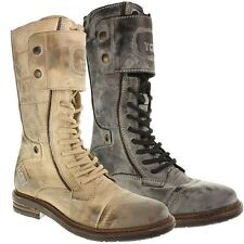 Kniehohe Stiefel aus Echtleder normale Weite (E) für die Freizeit