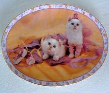 FINAL FITTING Kittens PLATE PRIMA BALLERINAS CAT Dance BALLET SHOES Leg Warmers