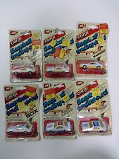 NEW Corgi 1982 FOX Mustang MLB Baseball trading cars - 6 car collection