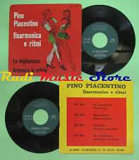 LP 45 7'' PINO PIACENTINO FISARMONICA La migliavacca Armonica no cd mc dvd