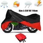 Large Waterproof Bike Motorcycle Cover Camo For Kawasaki Honda Suzuki Yamaha