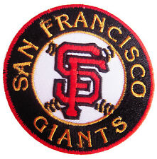 New MLB San Francisco Giants Logo Baseball embroidered iron on patch. (i14)