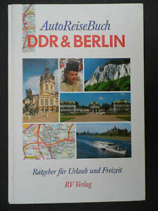 """4082 EAST GERMAN/DDR/GDR Cold War """"Auto Atlas of the DDR and Berlin """" cir 1990"""