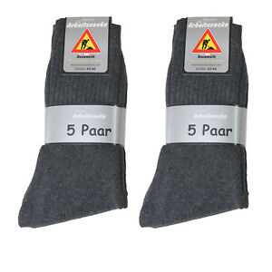 100 Paar Herren Arbeits Socken Arbeitssocken 92% BW + 8% Polya. anthrazit Art323