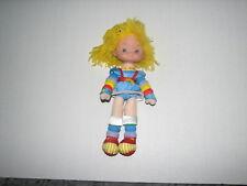 "Vtg Hallmark Rainbow Brite Bright Articulated Poseable Plush Doll 11"" 1983"