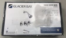 Glacier Bay Aragon 3-Handle 1-Spray Tub and Shower Faucet in Chrome