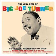 Big Joe Turner VERY BEST OF 50 Original Recordings ESSENTIAL New Sealed 2 CD