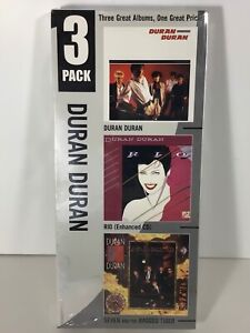 DURAN DURAN VTG Capital SEALED 81 82 83 EMI RIO SEVEN Ragged TIGER longbox CDs