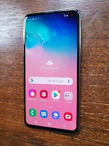 Samsung Galaxy S10e SM-G970U1 (Unlocked) Prism White 128gb - TINY DISCOLORATION