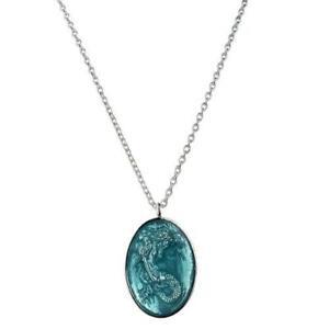 KIRKS FOLLY LORELEI MERMAID NECKLACE sterling silvertone