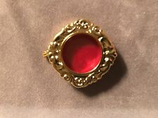 EMPTY BRAND NEW BRASS RELIQUARY THECA / BEST ON eBAY GUARANTEED / VATICAN, ROME!