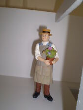 Dolls house figure,1/12th scale poly/resin Gardener