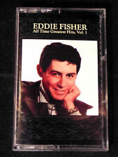 Eddie Fisher All Time Greatest Hits Cassette Tape Volume 1 Audio Music Anytime