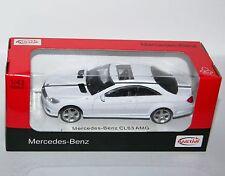 Rastar - MERCEDES-BENZ CL63 AMG (White) - Diecast Model Scale 1:43