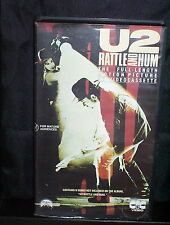 U2 RATTLE AND HUM - VHS - THE FULL LENGTH MOTION PICTURE ON VIDEO CASSETTE