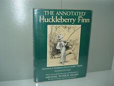 The Annotated Huckleberry Finn by Twain & Hearn, 1st First Edition 1981 Hardback