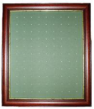 Golf Ball Marker Display Frame - For 99 Stem / Peg Markers - Dark Brown – Wall