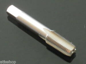 PI*, 1/8 NPT straight flute BOTTOM Plug lead industrial TAP HSS fully ground NEW