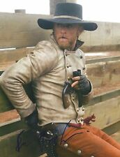 Ben Foster signed 3:10 To Yuma 8X10 photo - In Person Proof - Hell or High Water