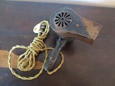 1925 Polar Cub Vintage Hair Dryer with cloth wrapped electric cord