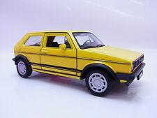 32679 | Welly VW Golf I GTI gelb Modellauto mit Antrieb 1:40 Neu