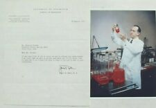 Jonas Salk Prominent Medical Researcher Polio Vaccine Signed [Tls] Typed Letter.