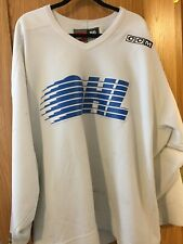 OHL PLYMOUTH WHALERS GAME WORN PRACTICE HOCKEY JERSEY-NIKE