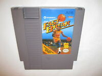 Magic Johnson's Fast Break (Nintendo NES) Game Cartridge Excellent