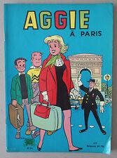 ** AGGIE n°23. À PARIS   **  EO 1970