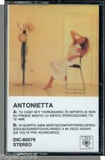 Antonietta - Antonietta - New 1989 CBS Latina Pop Cassette Tape!