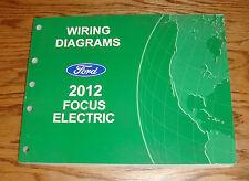 Original 2012 Ford Focus Electric Wiring Diagrams Manual 12