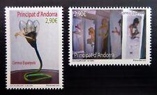 SPANISH ANDORRA 2012 Art SG393/4 Cat £32 U/M NC140