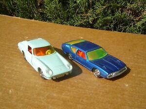 SIKU MODELL: LOT DE 2 MODELES: LAMBORGHINI ESPADA / FERRARI 275 GTB